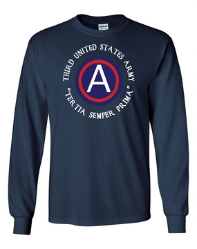 3rd Army  Long-Sleeve Cotton T-Shirt (FF)