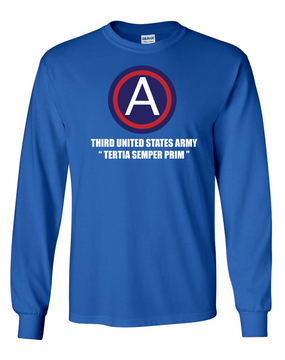 3rd Army  Long-Sleeve Cotton T-Shirt  (L)(FF)