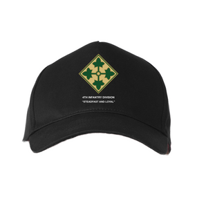 4th Infantry Division Embroidered Baseball Cap