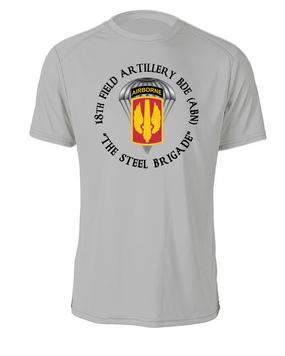 18th Field Artillery (Airborne) Cotton Shirt (C)(FF)