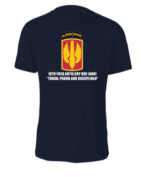 18th Field Artillery (Airborne) Cotton Shirt (FF)