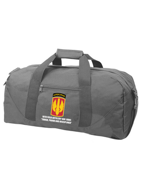 18th Field Artillery (Airborne) Embroidered Duffel Bag