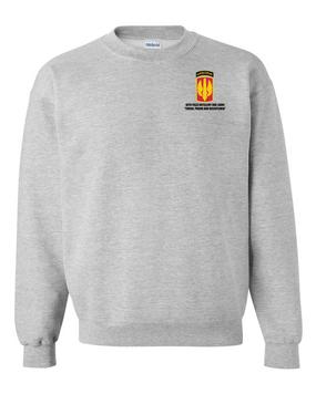 18th Field Artillery (Airborne) Embroidered Sweatshirt