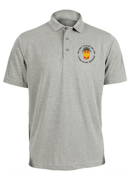 18th Field Artillery (Airborne) Embroidered Moisture Wick Polo Shirt (PRD)