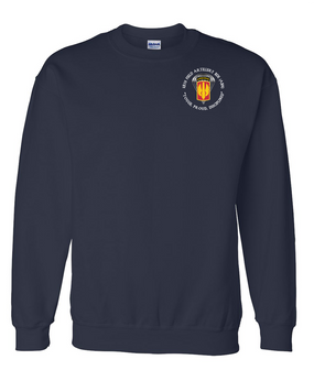 18th Field Artillery (Airborne) Embroidered Sweatshirt  (PRD)