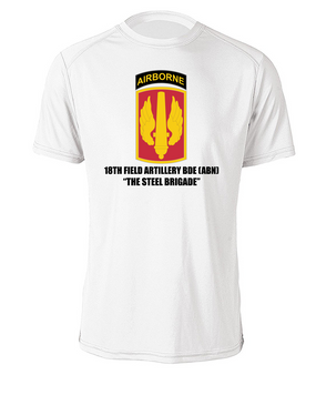 18th Field Artillery (Airborne) Cotton Shirt  (STEEL)(FF)