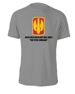18th Field Artillery  Cotton Shirt  (STEEL) (FF)