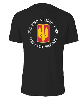 18th Field Artillery  Cotton Shirt  (STEEL)(C)(FF)