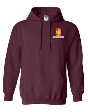 18th Field Artillery  Embroidered Hooded Sweatshirt  (TOUGH)