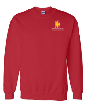 18th Field Artillery Embroidered Sweatshirt  (TOUGH)