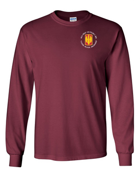 18th Field Artillery Long-Sleeve Cotton T-Shirt (TOUGH)(C)