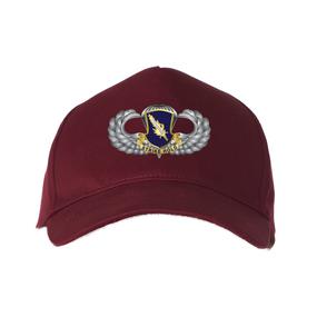"504th PIR ""Basic Parachutist""  Embroidered Baseball Cap"