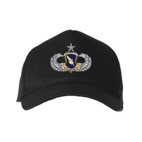 "504th PIR ""Senior Parachutist""  Embroidered Baseball Cap"