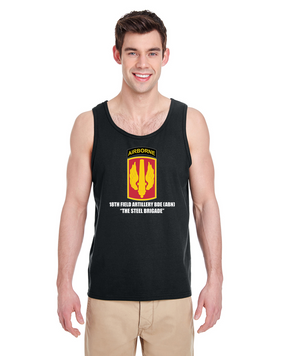 18th Field Artillery (Airborne) Tank Top  (STEEL)(FF)