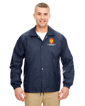 18th Field Artillery  Embroidered Windbreaker  (STEEL)