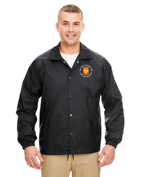 18th Field Artillery  Embroidered Windbreaker  (STEEL)(C)