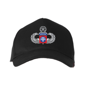 "82nd Airborne Division  ""Master"" Embroidered Baseball Cap"