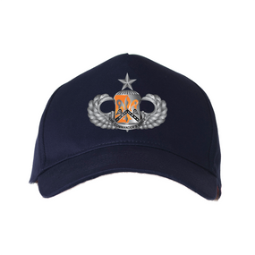 "82nd Signal  ""Senior"" Embroidered Baseball Cap"