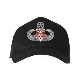 """307th Combat Engineers  """"Master"""" Embroidered Baseball Cap"""