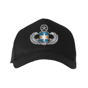 "313th MI (Airborne) ""Master"" Embroidered Baseball Cap"