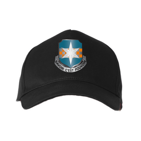 "313th MI (Airborne) ""Crest""  Embroidered Baseball Cap"
