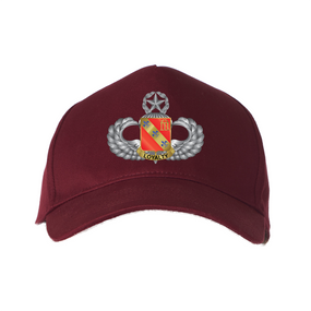 """319th Field Artillery (Airborne) """"Master"""" Embroidered Baseball Cap"""