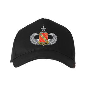 "319th Field Artillery (Airborne) ""Senior"" Embroidered Baseball Cap"