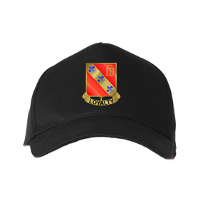 """319th Field Artillery (Airborne)""""Crest""""  Embroidered Baseball Cap"""