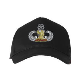 """407th BSB  (Airborne) """"Master"""" Embroidered Baseball Cap"""