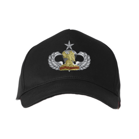 "407th BSB  (Airborne) ""Senior"" Embroidered Baseball Cap"