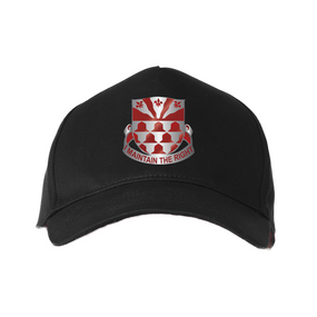 "307th Combat Engineers ""Crest""  Embroidered Baseball Cap"