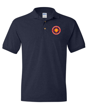 45th Infantry Division  Embroidered Cotton Polo Shirt (PROUD)