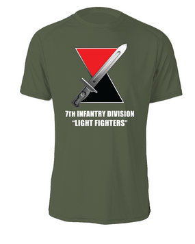 7th Infantry Division Cotton Shirt (L)(FF)