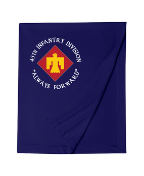45th Infantry Division Embroidered Dryblend Stadium Blanket  (C)