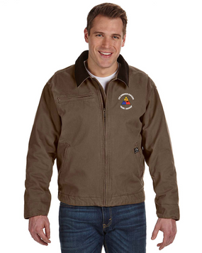 4th Armored Division Embroidered DRI-DUCK Outlaw Jacket (C)