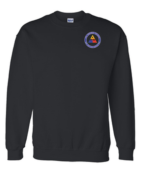 4th Armored Division Embroidered Sweatshirt  (Proud)