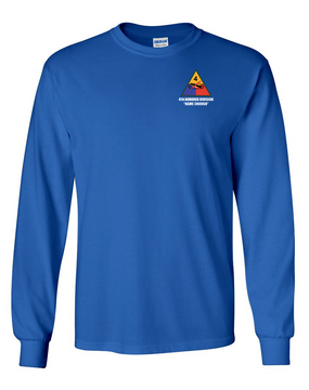 4th Armored Division  Long-Sleeve Cotton T-Shirt