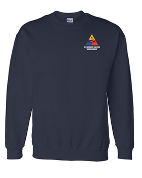 4th Armored Division Embroidered Sweatshirt
