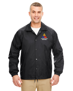 4th Armored Division Embroidered Windbreaker