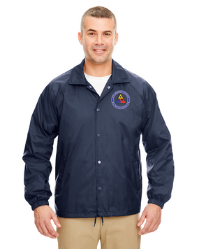 4th Armored Division Embroidered Windbreaker (Proud)