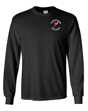 """7th Infantry Division """"Bayonet""""   Long-Sleeve Cotton T-Shirt"""
