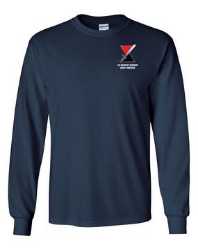 "7th Infantry Division ""Bayonet""   Long-Sleeve Cotton T-Shirt (L)"