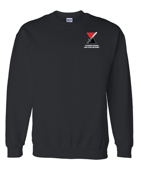 "7th Infantry Division ""Deadly""  Embroidered Sweatshirt"