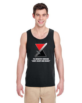 "7th Infantry Division ""Deadly""  Tank Top  (FF)"