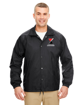 "7th Infantry Division ""Deadly""  Embroidered Windbreaker"