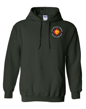 45th Infantry Division Embroidered Hooded Sweatshirt (C)