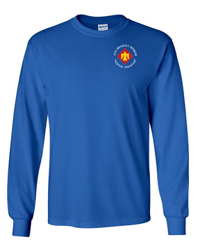 45th Infantry Division Long-Sleeve Cotton T-Shirt (C)