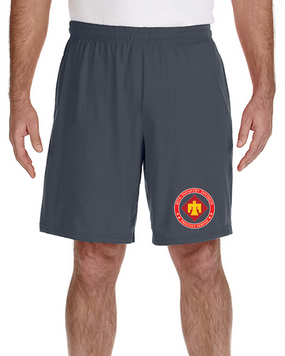 45th Infantry Division Embroidered Gym Shorts -Proud