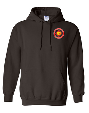 45th Infantry Division Embroidered Hooded Sweatshirt-Proud