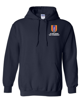 1st Signal Brigade Embroidered Hooded Sweatshirt
